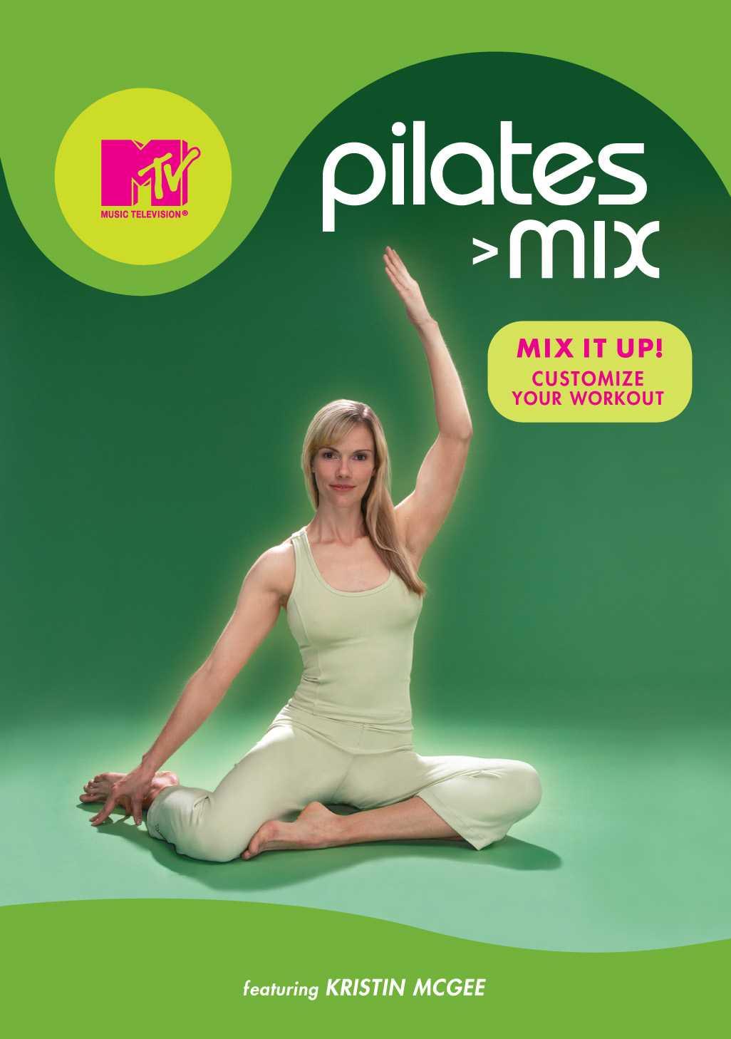 MTV PILATES MIX BY MCGEE,KRISTIN (DVD)
